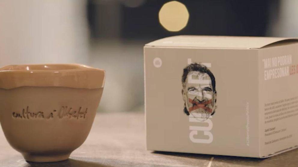 Cuixart hace negocio en Lledoners: una taza hecha en prisión a 15 euros la unidad