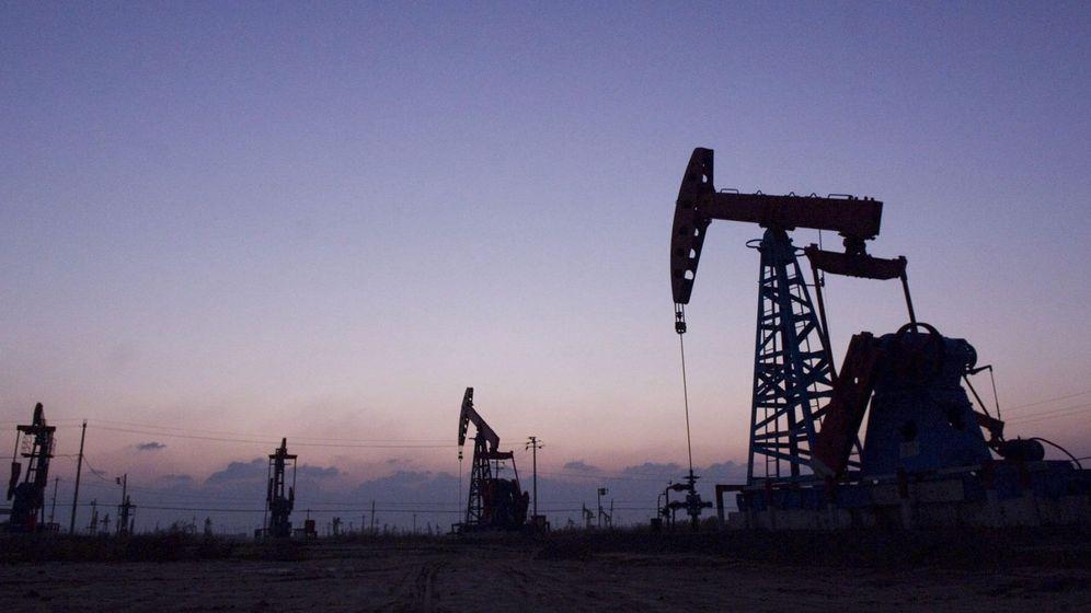 Foto: Pozos petrolíferos de Gudong, China. (EFE)