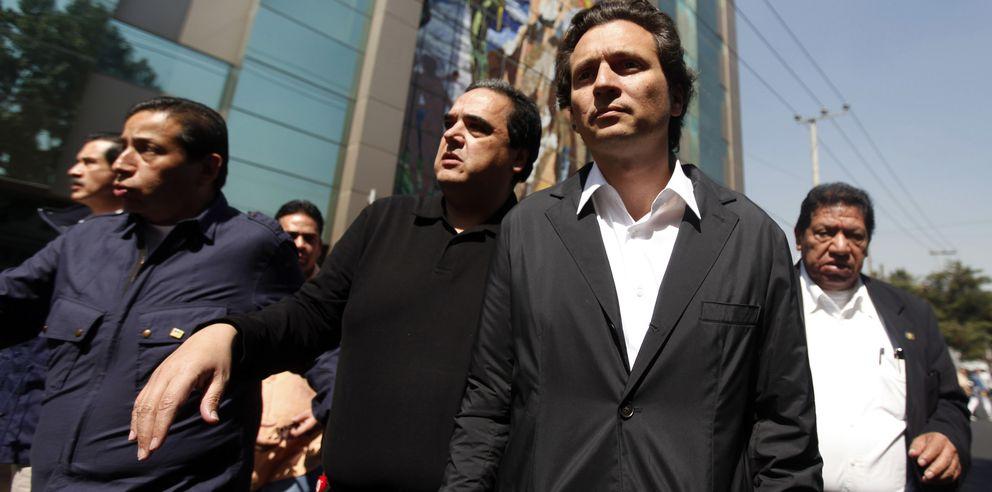 El presidente de Pemex, Emilio Lozoya. (Reuters)
