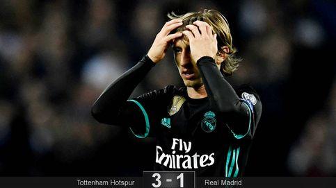 El Real Madrid toca fondo en Wembley y Zidane se queda sin respuestas