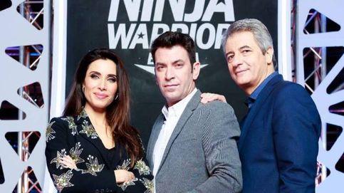 'Ninja Warrior' lidera  con un gran 17,3%, mientras que 'The Wall' se desploma (10,4%)