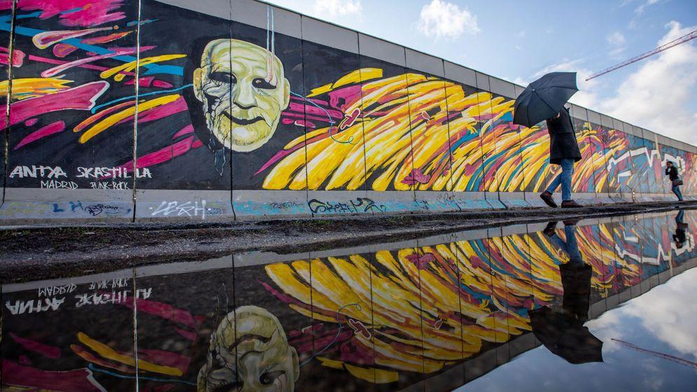 Foto: 30 años de la caída del Muro de Berlín. (EFE)