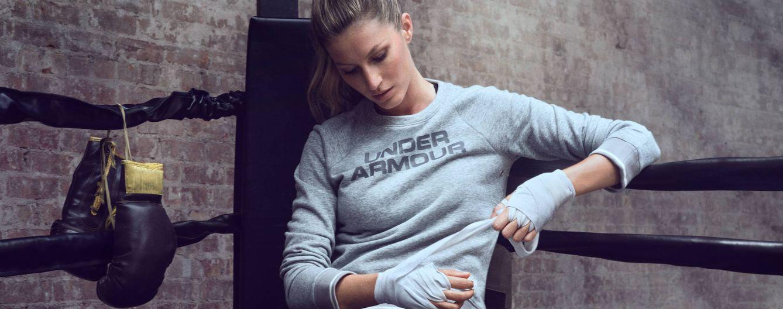 Foto: La modelo Gisele Bündchen como imagen de la firma Under Armour