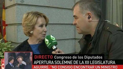 Ferreras caza a Esperanza Aguirre a las puertas del Congreso
