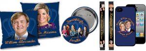 Cientos de 'souvenirs' para la coronación de Guillermo y Máxima de Holanda