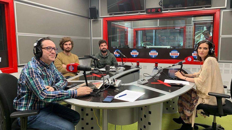 Sara Carbonero en su programa de radio. (Instagram @saracarbonero)