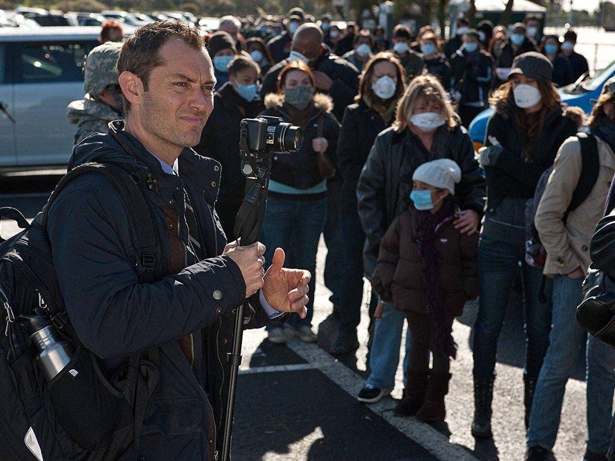 Foto: Jude Law en un momento de 'Contagion' (2011), de Steven Soderbergh. (Warner)