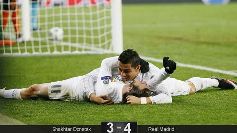 El Madrid mejora cuando todos juegan donde deben, aunque acaba sufriendo