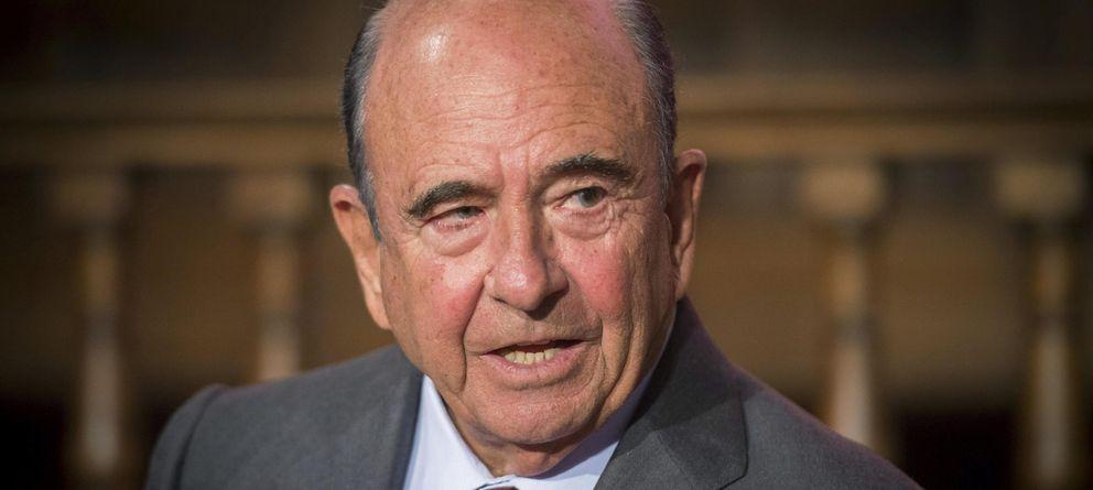 Foto: El presidente de Banco Santander, Emilio Botín