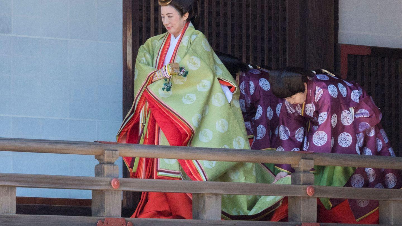 La emperatriz Masako en una imagen de archivo. (EFE)