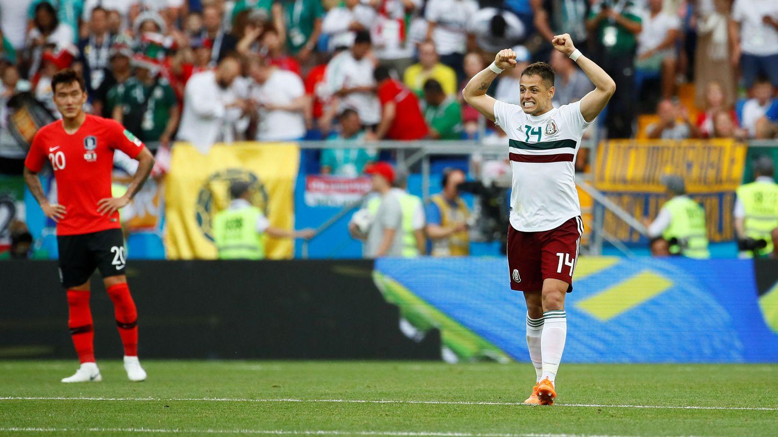 Foto: World cup - group f - south korea vs mexico