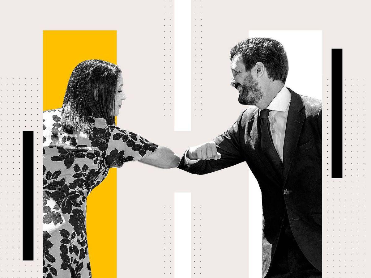 Foto: ¿Debe Cs fusionarse con el PP? (Foto: Rocío Márquez)