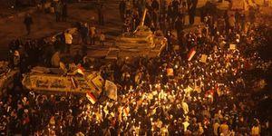 Los manifestantes y los sindicatos egipcios se preparan para el 'viernes de los mártires'