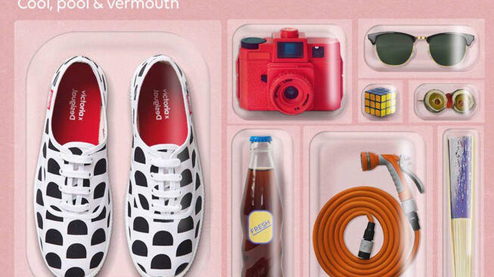 Foto: Zapatillas deportivas de Desigual y Victoria. (Cortesía)