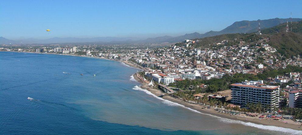 Foto: La localidad mexicana de Puerto Vallarta, en el estado de Jalisco. (Wikipedia)