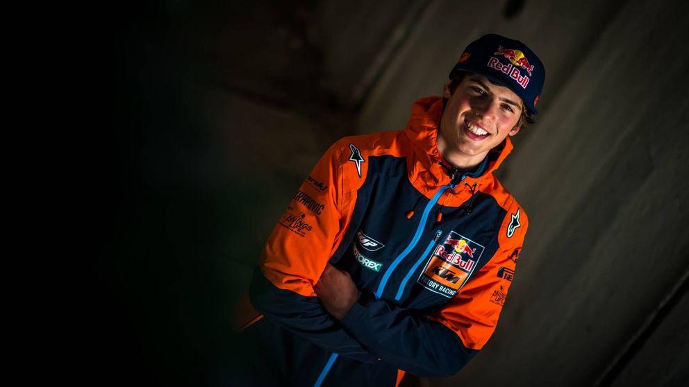Jorge Prado, el fenómeno precoz del motocross que se ríe del vértigo