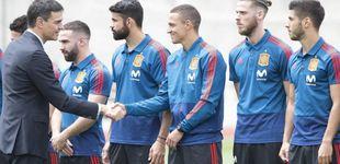 Post de Pedro Sánchez y los que ahora no están cómodos viendo a De Gea con España