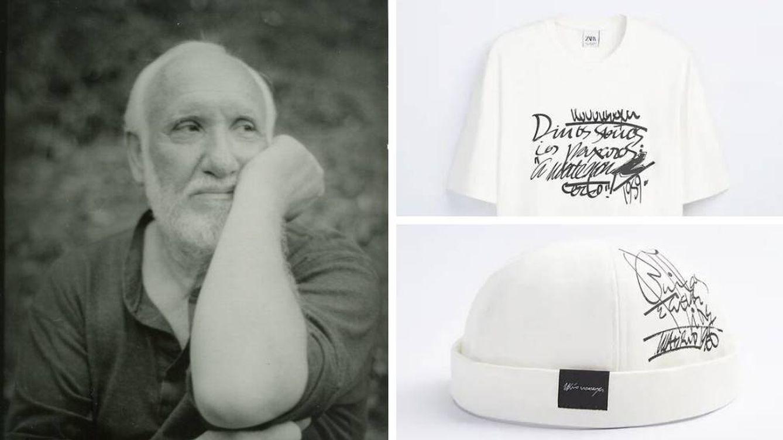 Zara hace patria y lleva un poema visual de Uxío Novoneyra a una colección de ropa