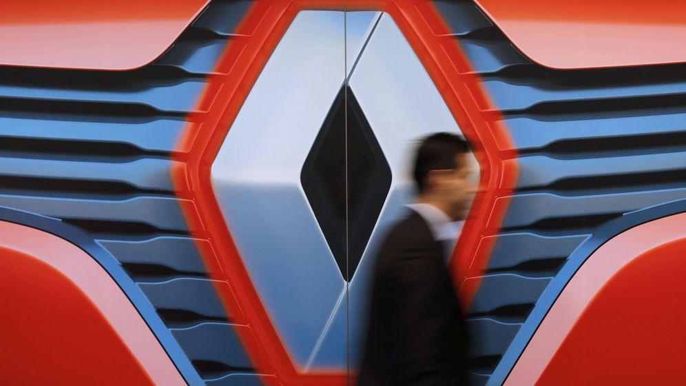 Foto: El logo de Renault. (Reuters)