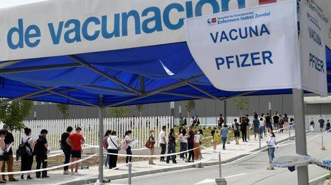 Siguen bajando los contagios a medida que avanza la campaña de vacunación