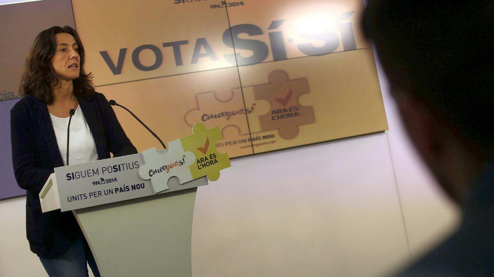 Foto: La portavoz de Convergencia Democrática de Cataluña (CDC), Mercé Conesa. (EFE)