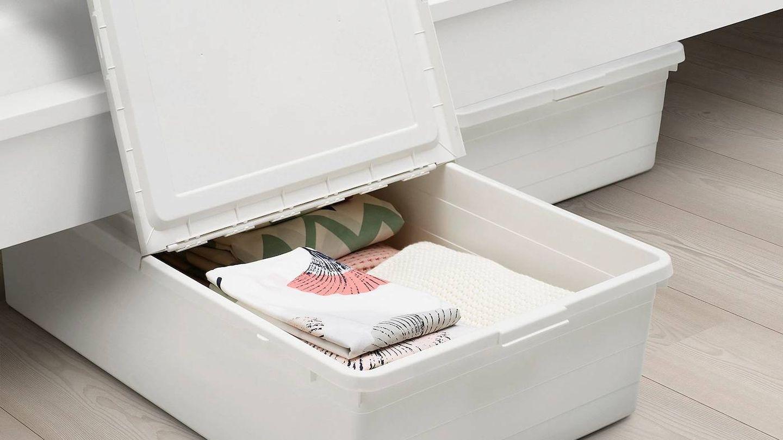 Caja para almacenar tus cosas de Ikea. (Cortesía)