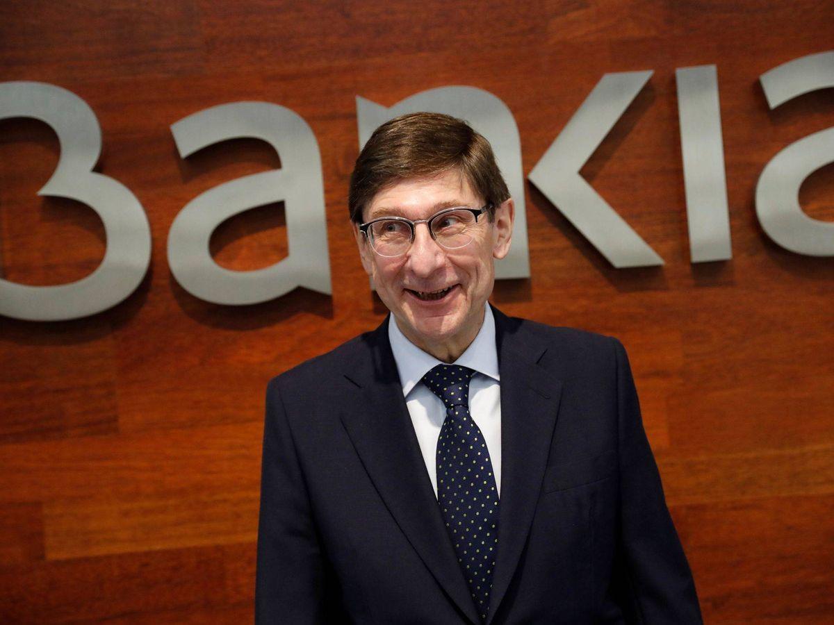 Foto: El presidente de Bankia, José Ignacio Goirigolzarri, en una presentación de resultados. (EFE)