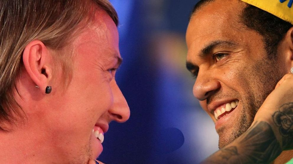 Dani Alves y Guti se enzarzan por culpa de Cristiano Ronaldo