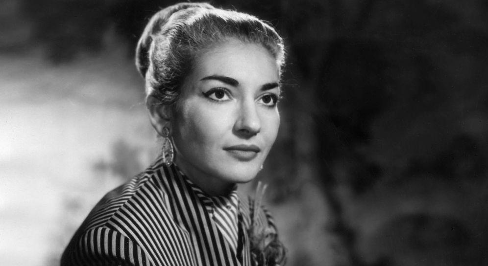 Foto: María Callas en una imagen de archivo. (Gtres)