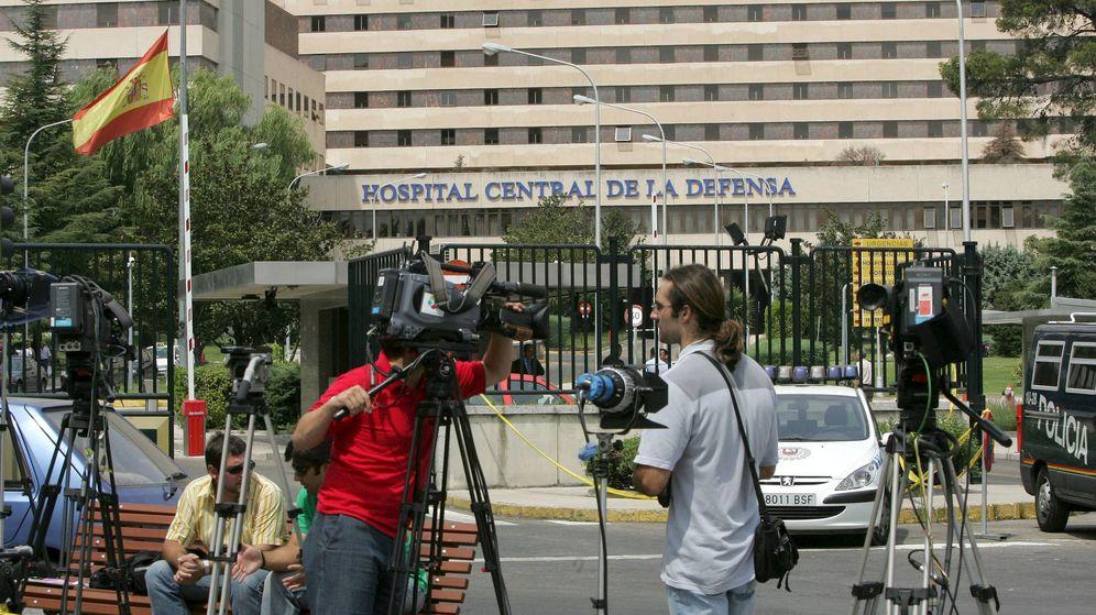 Foto: Fotografía de archivo del hospital militar Gómez Ulla. (EFE)
