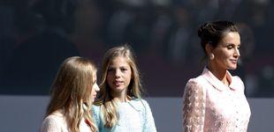 Post de El plan secreto de la reina Letizia y sus hijas en el 12-O con una de las invitadas