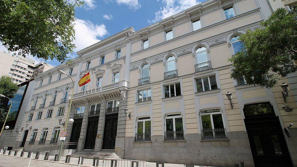 Foto: Sede del Consejo General del Poder Judicial (CGPJ) en Madrid