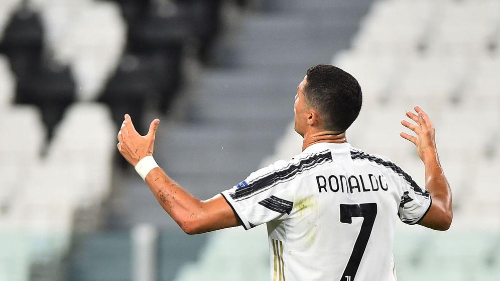 Foto: Cristiano Ronaldo, en un lance del partido de Champions frente al Lyon. (Reuters)