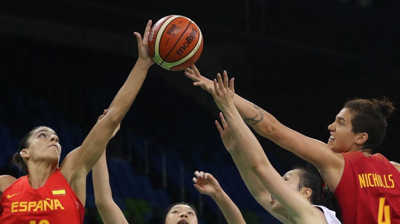 España se impone a China y se jugará la segunda plaza del grupo con Canadá