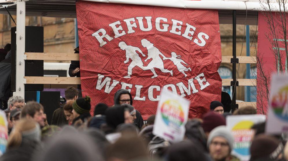 Foto: Protestas en Alemania. (Reuters)