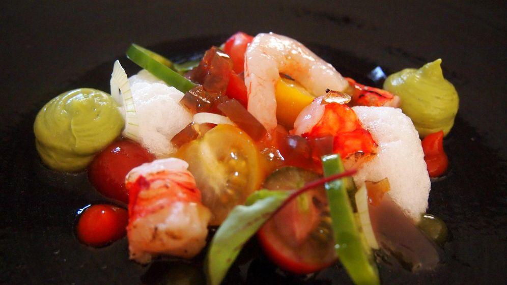 Foto: Salpicón de marisco del restaurante El Lago