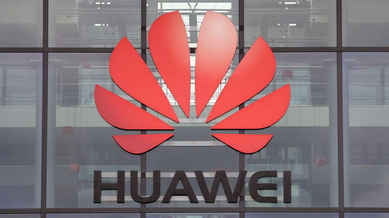 Logo de Huawei.