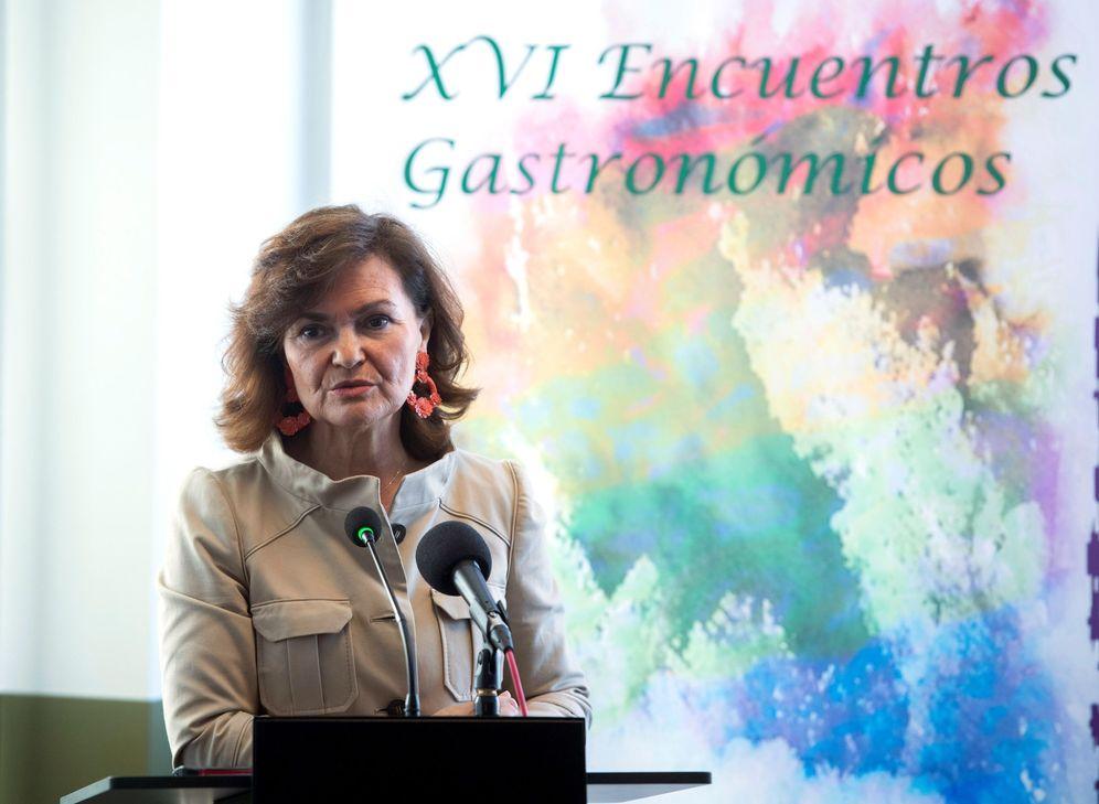 Foto: Carmen Calvo, vicepresidenta del Gobierno, el pasado 18 de marzo, en Madrid. (EFE)