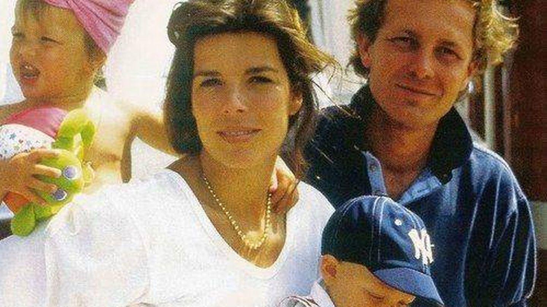 Carolina de Mónaco con el fallecido Stefano Casiraghi. (Gtres)