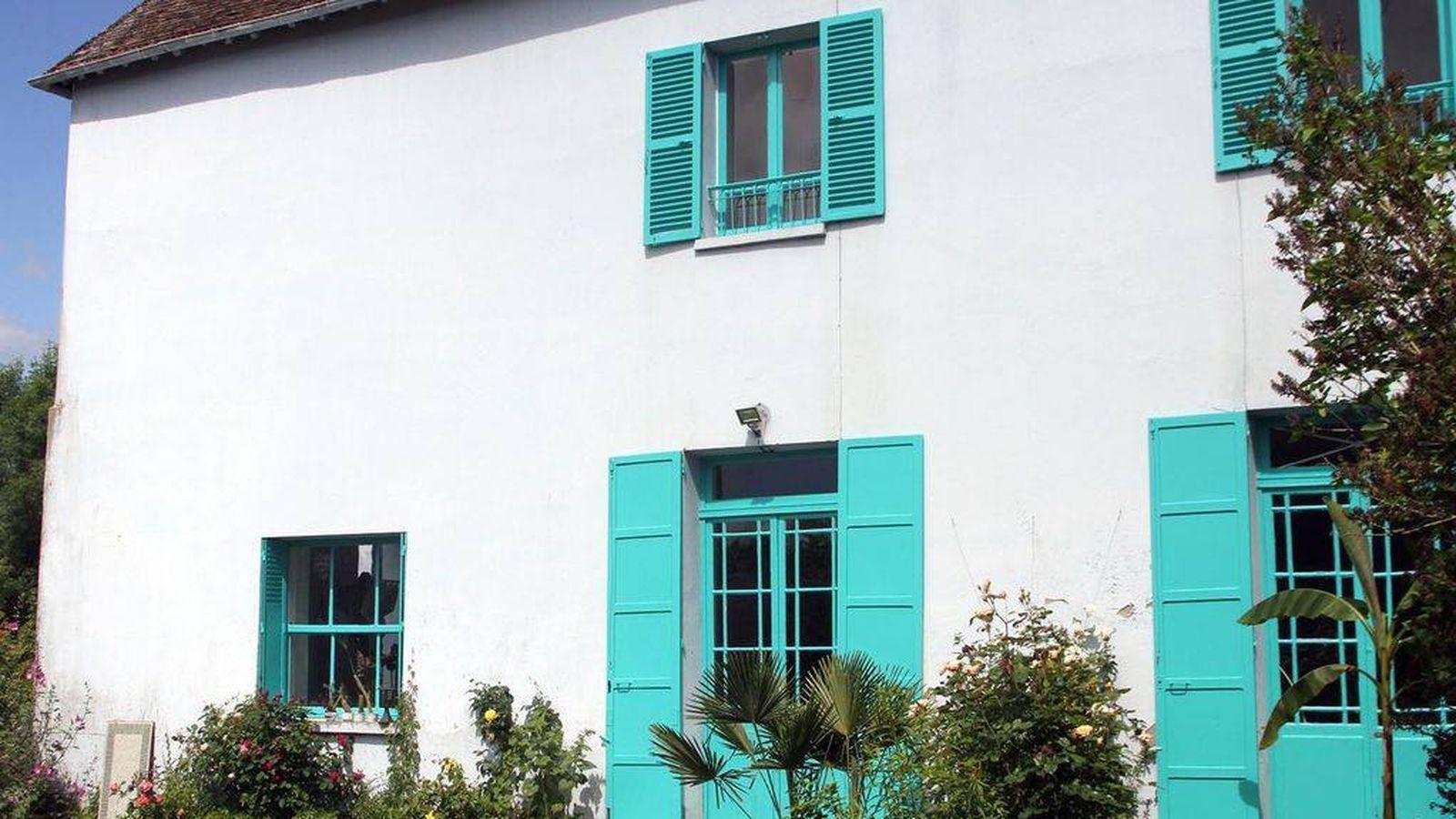 Foto: La casa azul que también fue de Monet, en su querido (y pintado) Giverny. (Cortesía)