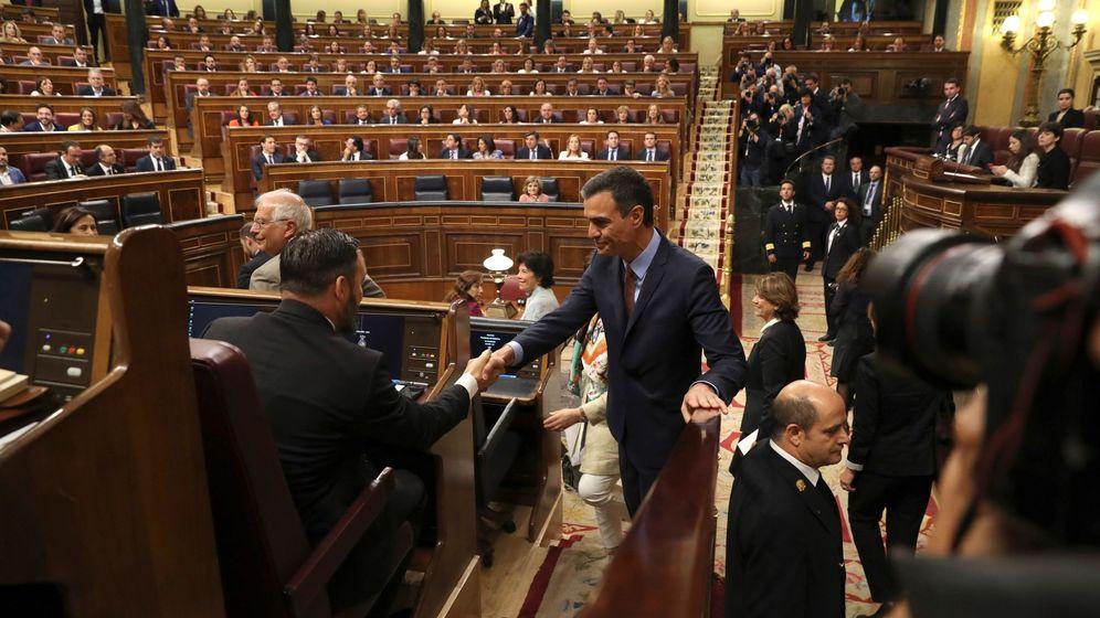 Foto: Sesión constitutiva de las nuevas Cortes. EFE