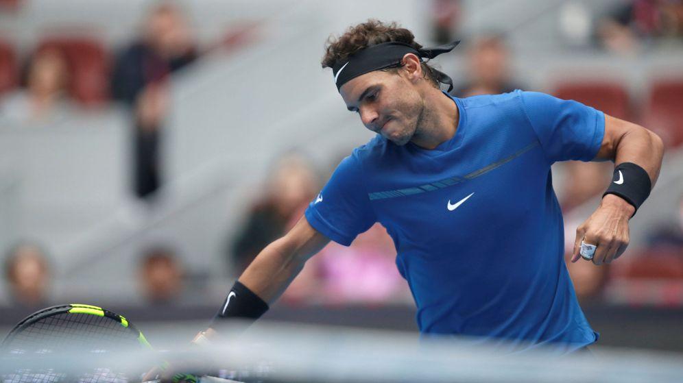 Foto: Rafa Nadal venció este viernes a John Isner en cuartos de final del China Open. (Reuters)