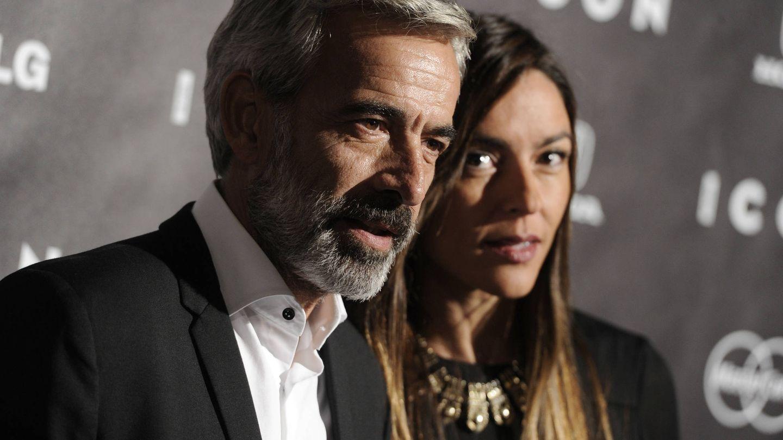 Imanol Arias e Irene Meritxell en una imagen de archivo. (Gtres)