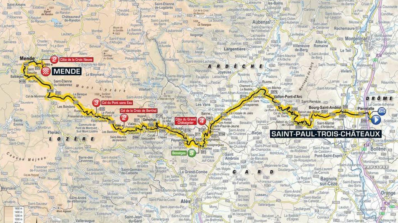 Recorrido de la decimocuarta etapa | Tour de Francia 2018