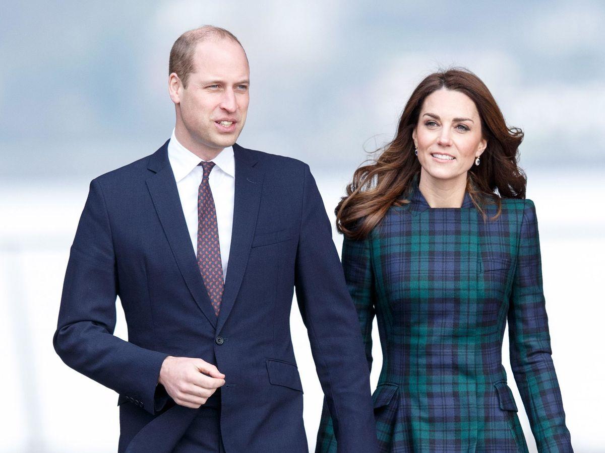 Foto: El príncipe Guillermo y Kate Middleton. (EFE)