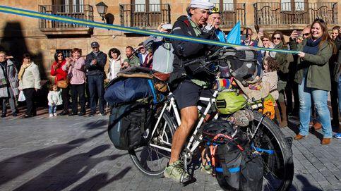 Alvaro Neil , el biciclown asturiano