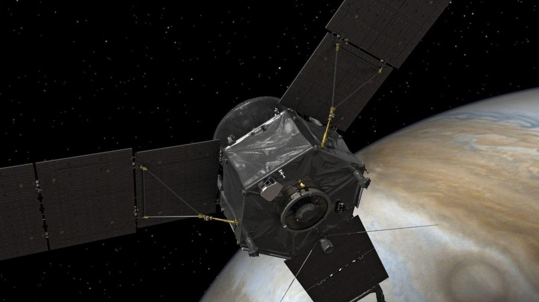 La sonda Juno ha detectado una señal de radio de cinco segundos.