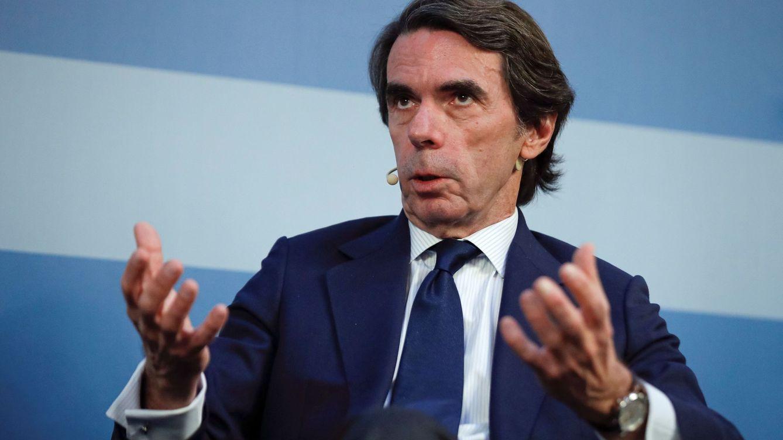 Foto: José María Aznar, en una imagen de archivo. (EFE)