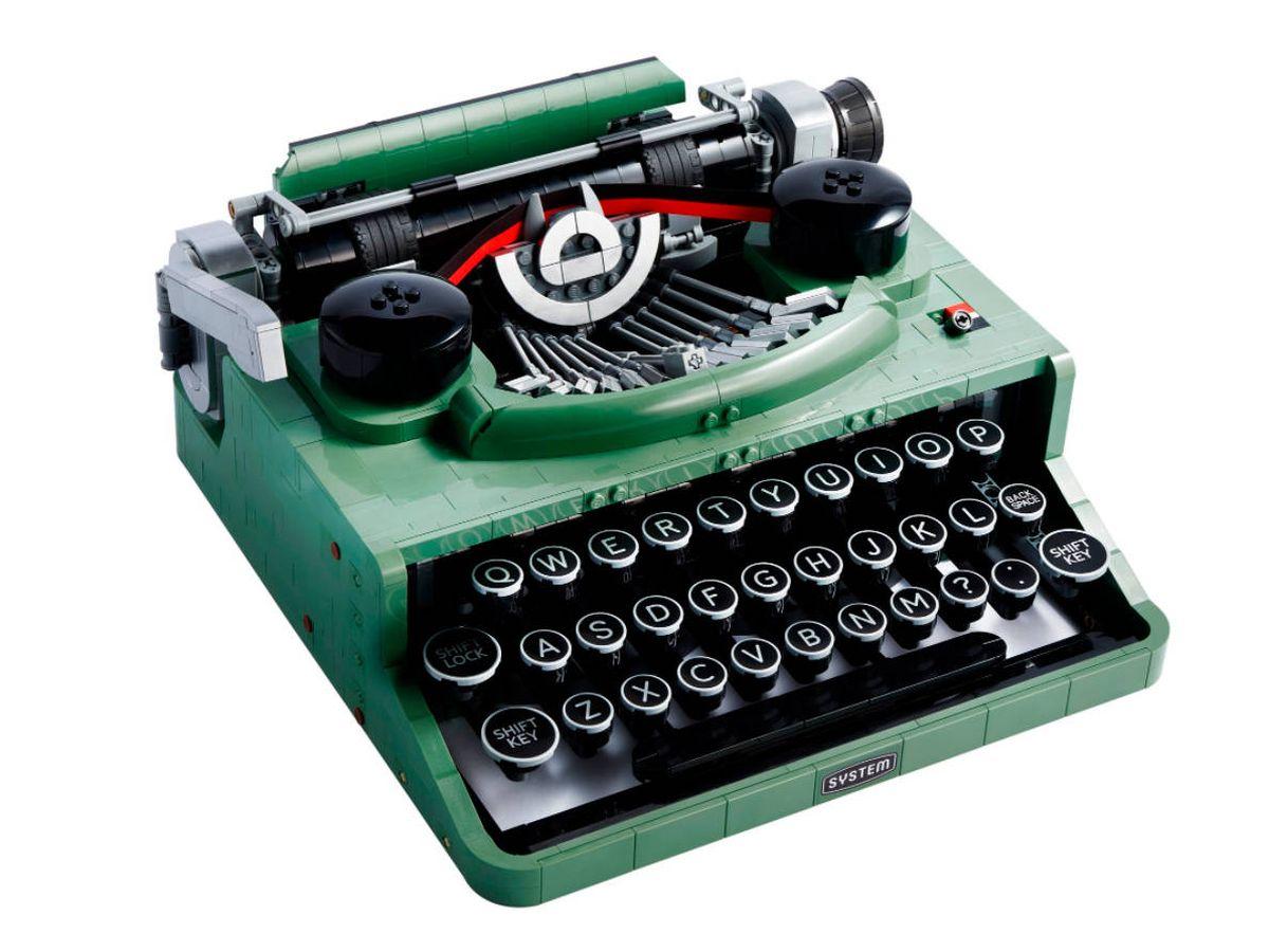 Foto: La máquina de escribir de Lego cuesta el equivalente a 165 euros en Estados Unidos