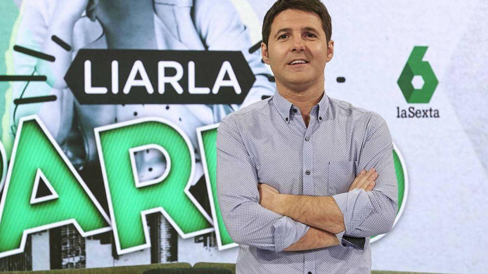 Foto: Cintora en 'Liarla Pardo'. (Atresmedia Televisión)